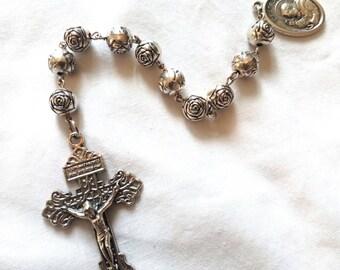 Handmade Single-Decade Travel Rosary