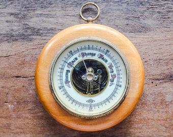 Vintage Nautical Style Barometer, Coastal Decor, Industrial Decor, Man Cave Decor, Office Decor