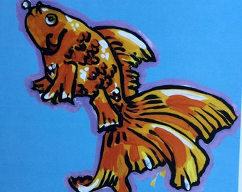 ZEN FISH art print