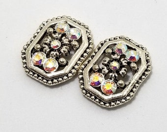 Swarovski Crystal Elements Vintage 18mm Sliders #606