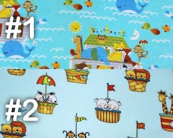 "Noah's Ark Animal Kingdom Extra Large Receiving Blanket - 36"" x 42"""