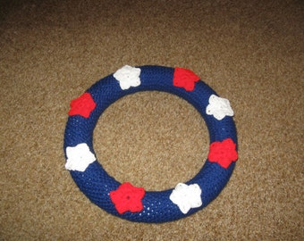 Star Crochet Wreath Pattern PDF file