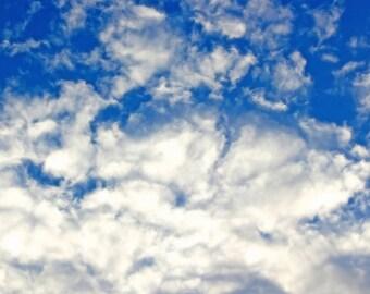 Cloud Print, Sky Print, Cloud Photography, Sky Photo, Cloud Picture, Sky Picture, Cloud Photo, Blue Sky Print, Sky Print, Nature Photography