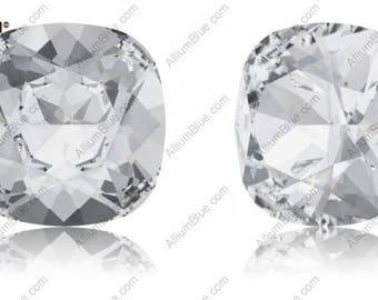 Swarovski 4470 - Cushion Cut Crystal Fancy Stone UNFOILED
