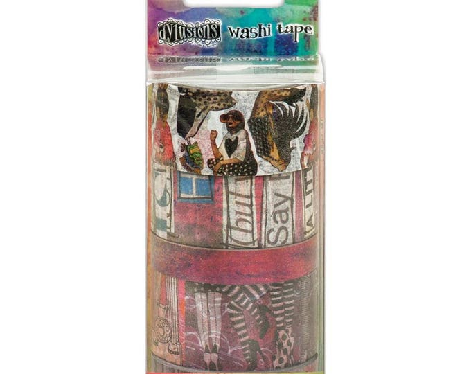 New! Ranger Dylusions Washi Tape by Dyan Reaveley - Set #1