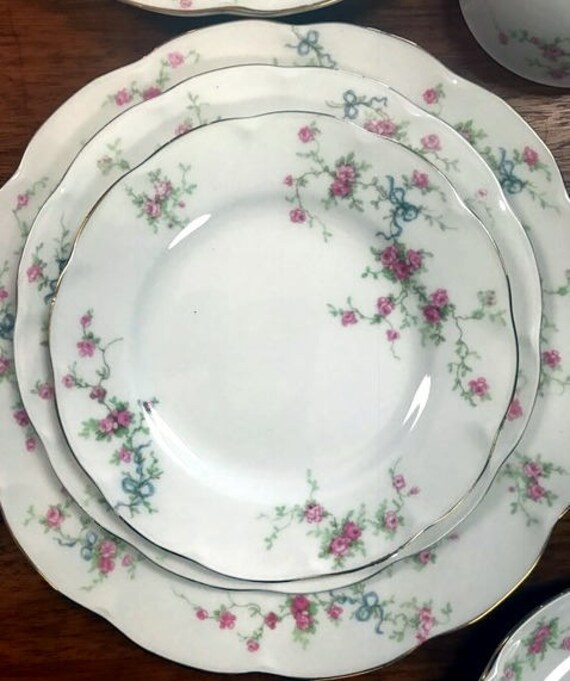 Haviland Rosanne china set for 8
