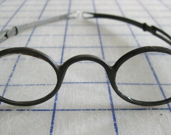 Antique Civil War era eye glasses 1800's eyewear
