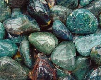 Bulk 1lb Tumbled Apatite Gemstones, Bulk Wholesale Tumbled Stones, Tumbled Mixed Apatite Gemstones, 1 Pound Gemstone Lot Wholesale