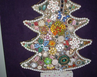 Jewelry Tree on Lighted Board