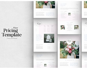 Wedding Photographer Pricing Template - Pricing Guide Templates - Wedding Photography Pricing List Template - Template for Photographers