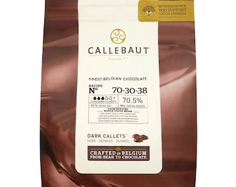Callebaut Finest Belgian Chocolate Callets