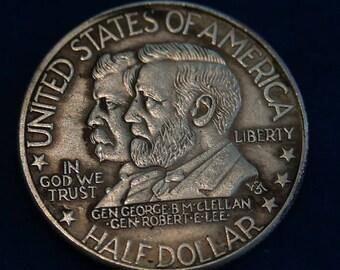 USA 1937 Antietam Commemorative Half Dollars  Confederate General  Robert E. Lee Copy Coins