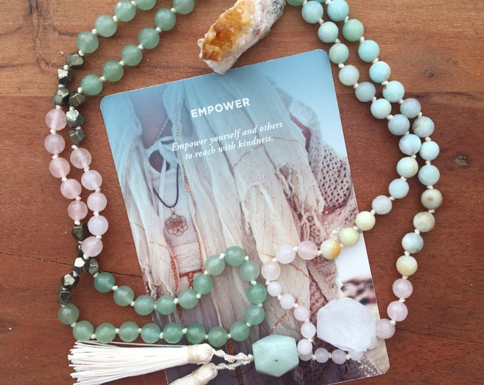 Custom Order Full Gemstone Mala