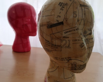 2 Styrofoam Head Forms