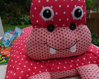 HIPPO KIDS CUSHION