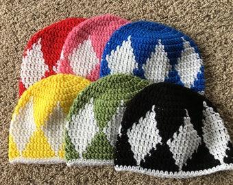 Power ranger hats