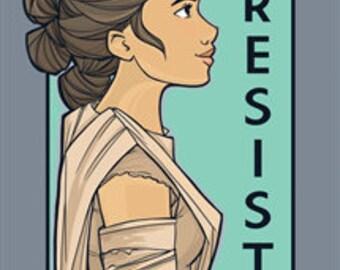 Resist - She Series Postcard (Item 09-414)