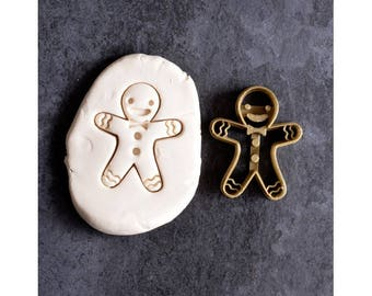Gingerbread man cookie cutter - Gingerbread cookie cutter - Winter cookie cutter - Christmas cookie cutter - Cookie cutter - Christmas