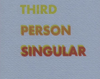 Third Person Singular (PDF)