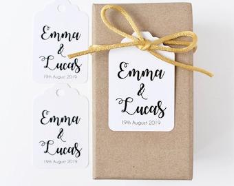 Personalised tag, custom bomboniere, wedding tags, gift tag, wedding favour, wedding gift tags, bonbonniere, event tag, wedding memento