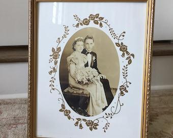 Vintage Frame Wood Picture Frame Wedding Frame Gold Frame Old Frames Antique Frame Portrait Frame Photo Frame Oval Frame Art Frame Vintage