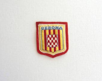 PATCH new sew - GERONA - red blue yellow white colors