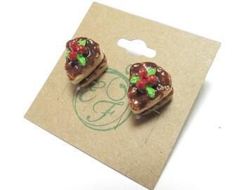 Sliced Layer Cake Earrings