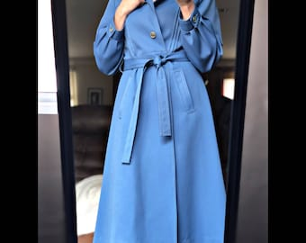 VINTAGE Weather Watcher Blue Coat One of a Kind
