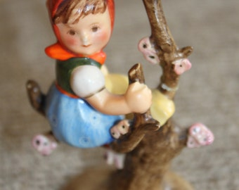 Vintage Rare Hummel Apple Tree Girl Porcelain Figurine
