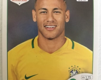 Neymar Jr. (Brazil) Panini Fifa World Cup Russia 2018 Sticker #371