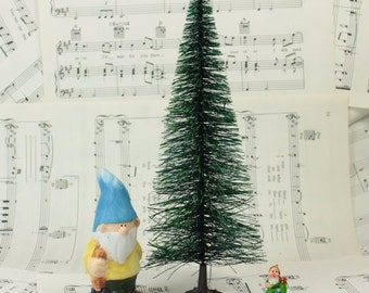 "5"" Bottle Brush Tree,Miniature Christmas Tree,European Import Miniature, German Miniature, Christmas Crafts, DIY Christmas, Miniature Crafts"
