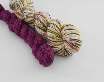 LOVE SOCK self-striping, 027, merino nylon sock yarn,100g