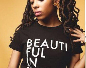 Beautiful in every shadeMommy and me/ Brown girl  beauty/melanin t shirts/ Black girl beautiful/