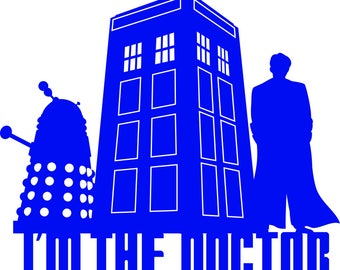 I'm the Doctor Decal
