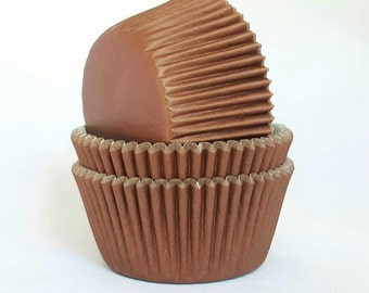 High Quality Brown Standard Size Cupcake Cases Cupcake Liners