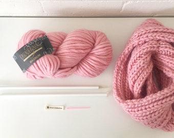 Chloe Snood Knitting Kit