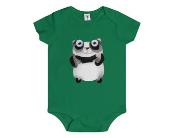 Onesie Sweet Little Panda Friend Infant Baby Shower Present Gift