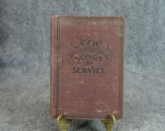 New Songs For Service By Homer A. Rodeheaver C. 1929.