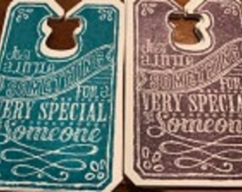Just A Little Something For A Very Special Someone Gift Tag Set-10