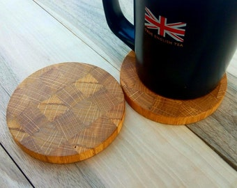 Coasters drink Set 2 coasters Coasters set Decorative coasters Customized coasters Wood coasters Stand for cups Cup holders Wooden coasters