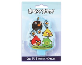 Angry Birds Candle Birthday Party Cake Toppers Party Favors