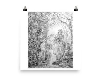 Chastity - Fine Art Illustration Print