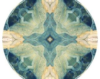 Mandala Art, Spa Wall Art, Peaceful Art, Meditation Artwork, Abstract Photography, Mandala Wall Art