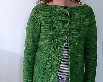 "Knitting pattern Cardigan ""Dawsons Cardigan"""