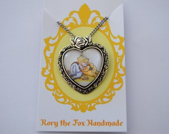 Winnie the Pooh - Disney inspired - Pooh,  Eeyore and Piglet necklace