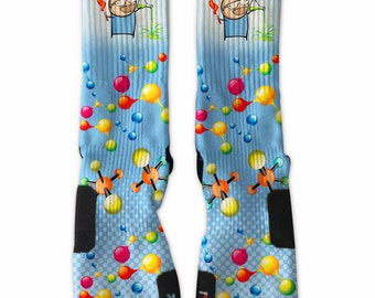 Custom Science New Nike Elite Socks