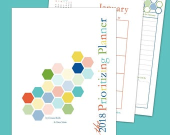 Prioritizing Planner Printable Download