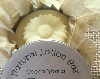 Lotion Bars, Natural Lotion Bar, Cocoa, Free Shipping, Hand Lotion, Solid Lotion Bar, Kids Lotion, Organic Lotion Bar,