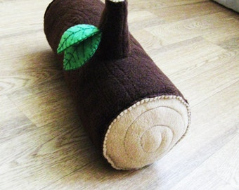 Wood Log Pillow - Free Shipping