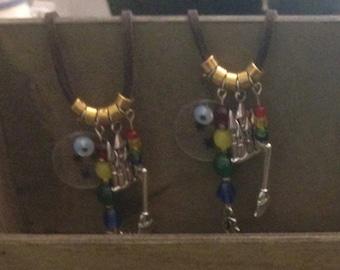 Hogwarts Colors Necklace